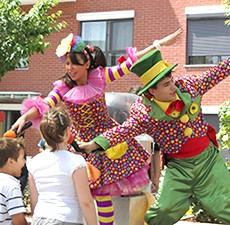 animatori clovni petreceri copii