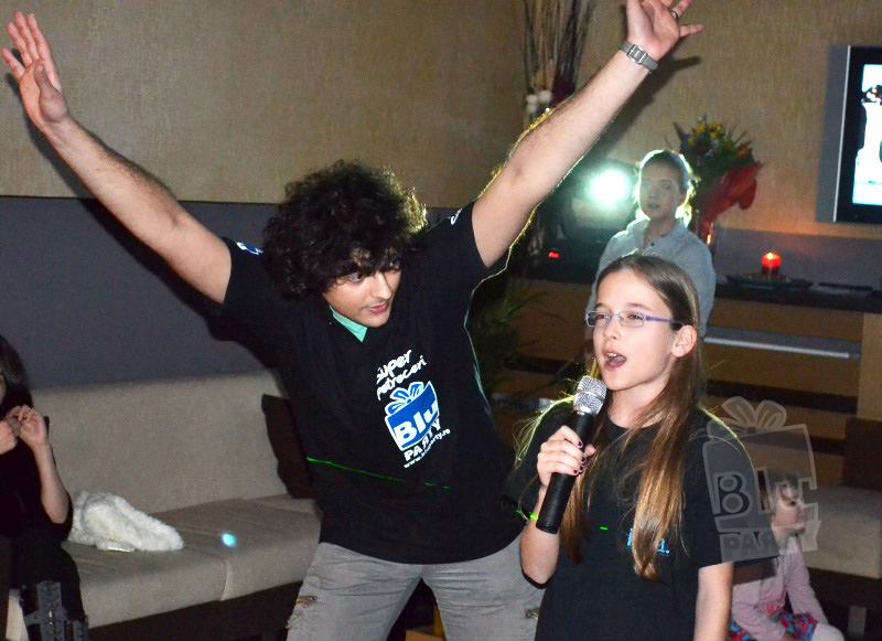 petrecere karaoke copii