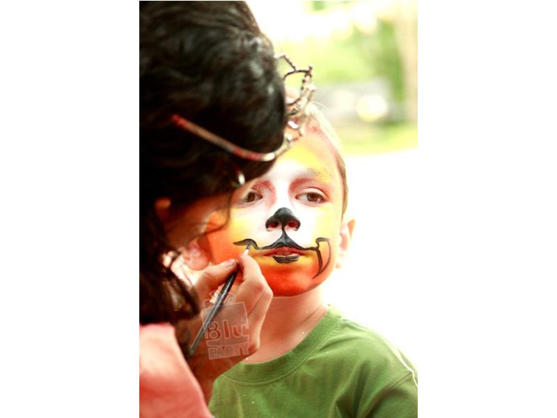 pictura pe fata copii facepainting