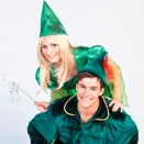 Tinkerbell si Peter Pan