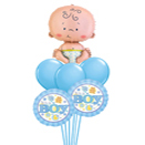 Aranjamente din baloane pentru mesele de botez