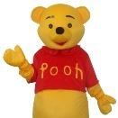 Mascota Winnie the Pooh