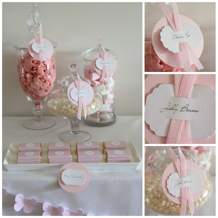 candy bar botez decoratiuni