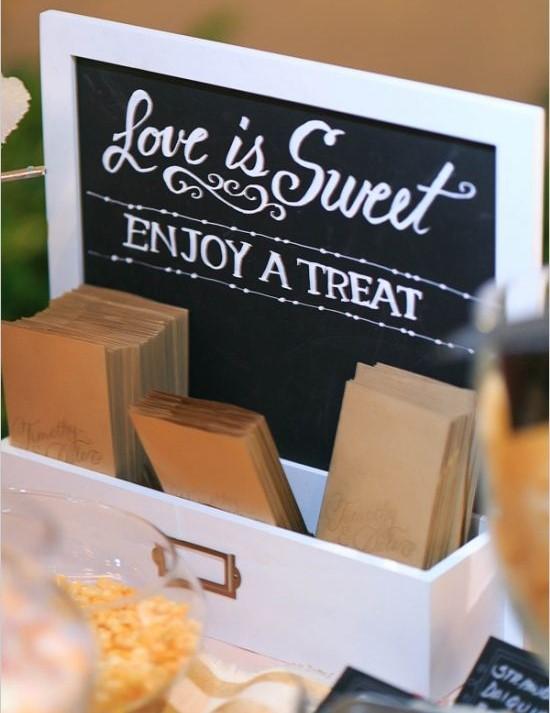 candy bar etichete nunta