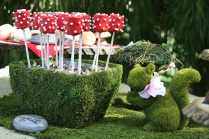 forrest candy buffet wedding