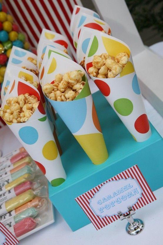 pungute popcorn petreceri candy bar