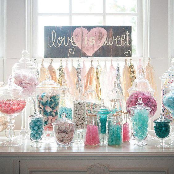 recipiente pentru dulciuri candy bar
