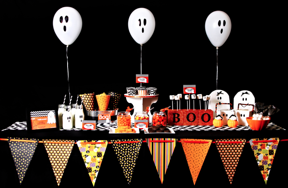 candy bar tematic halloween