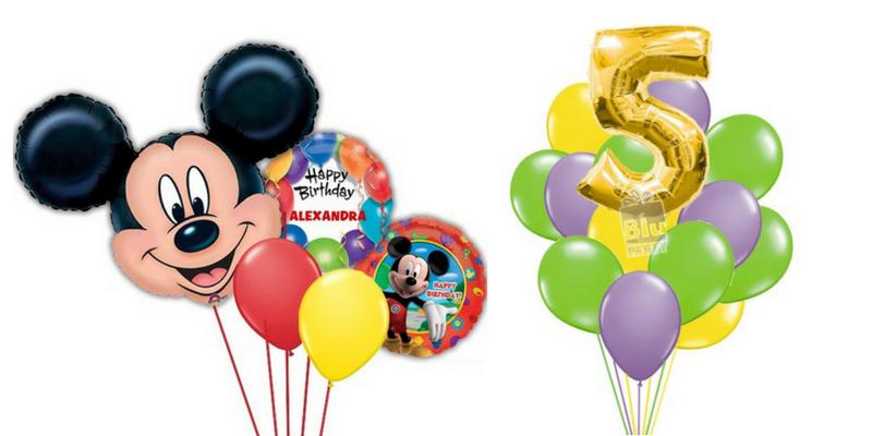 baloane aniversare heliu