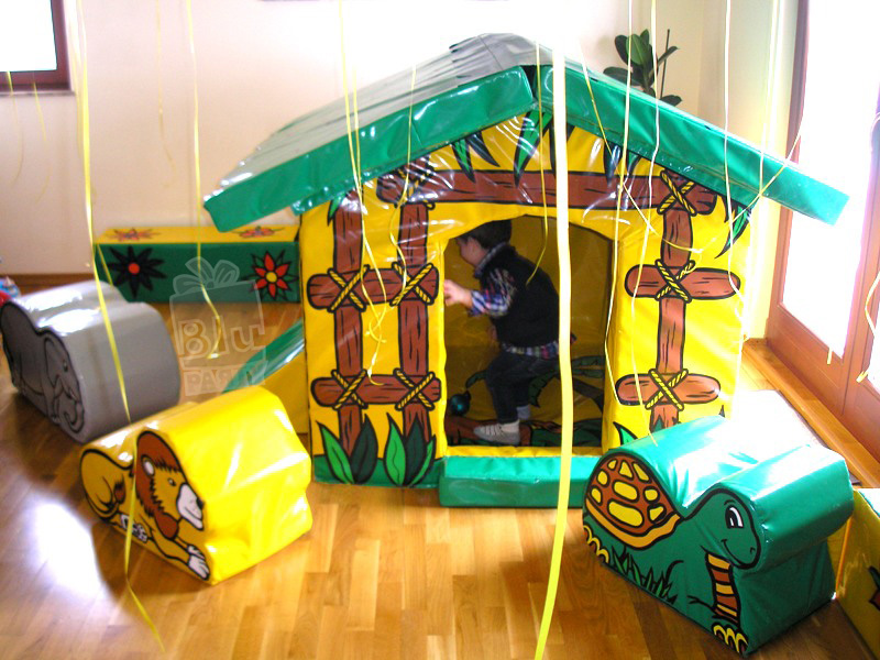 joc softplay jungle senzorial