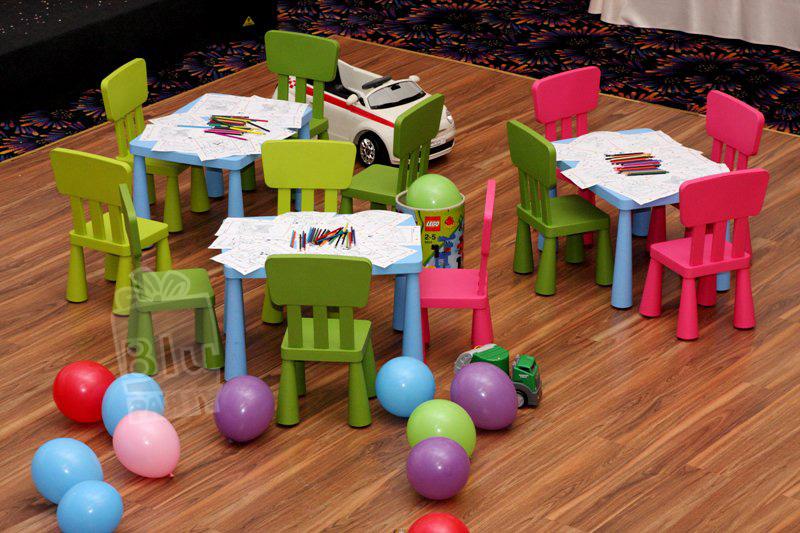 masuta si scaunele pentru copii