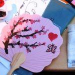 Atelier pictura pe evantaie