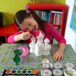 Atelier pictat figurine ipsos