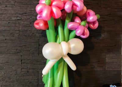 bluparty buchete de flori din baloane