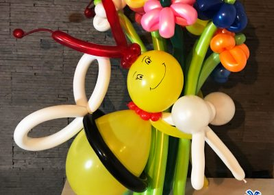 buchete de flori din baloane bluparty
