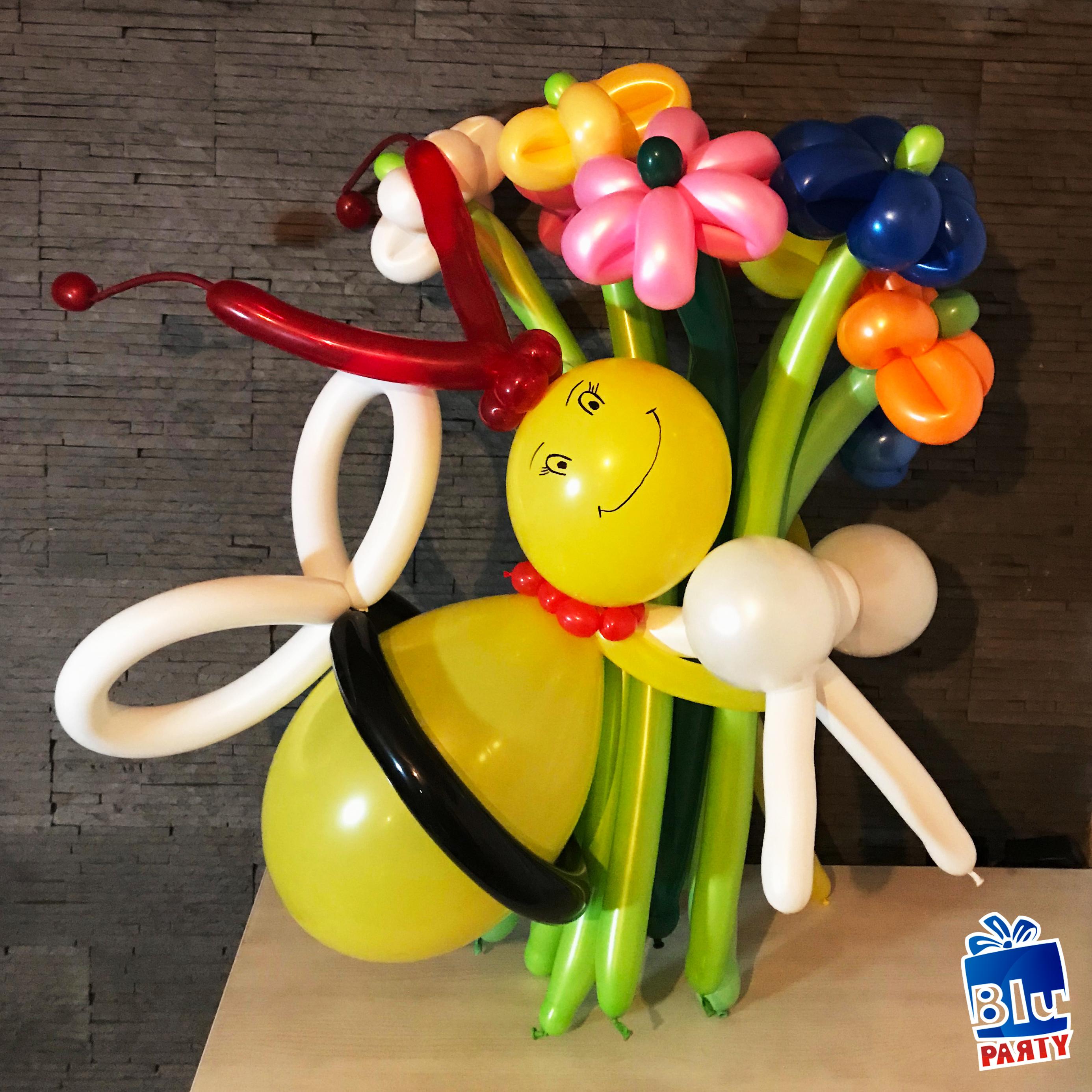 buchete de flori baloane modelabile