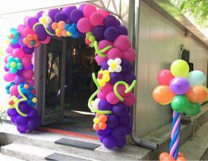 arcada de baloane