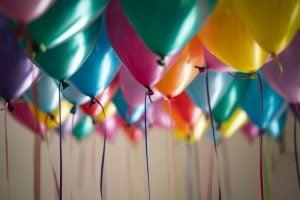 baloane cu heliu pentru bachet