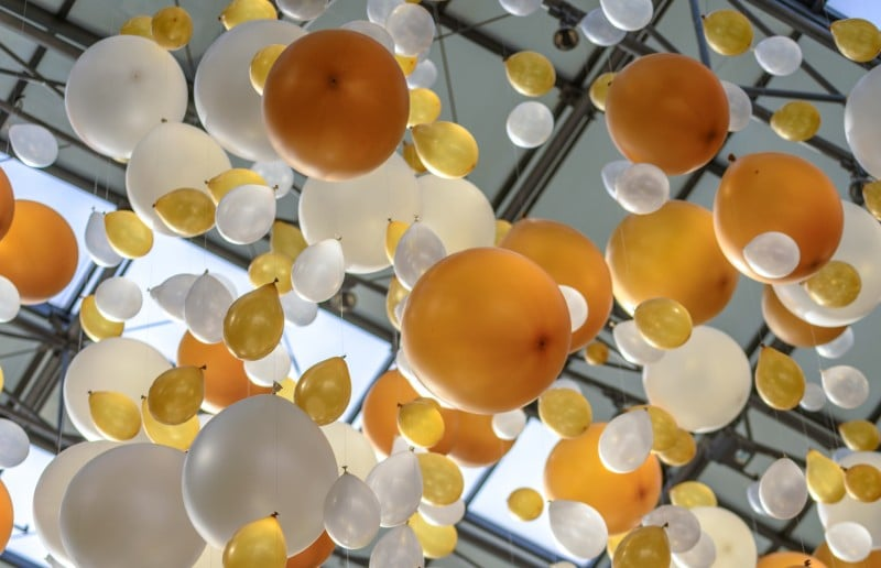 ploaie de baloane curs festiv