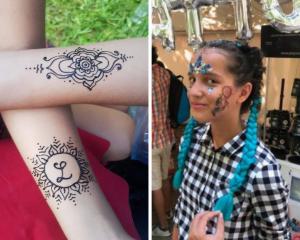 atelier henna petrecere copii