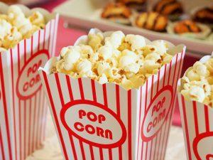 stand popcorn petrecere
