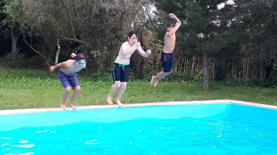 pool party copii